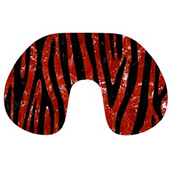 Skin4 Black Marble & Red Marble Travel Neck Pillow