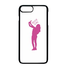 Selfie Girl Graphic Apple Iphone 7 Plus Seamless Case (black)