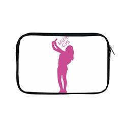 Selfie Girl Graphic Apple Macbook Pro 13  Zipper Case