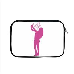 Selfie Girl Graphic Apple Macbook Pro 15  Zipper Case