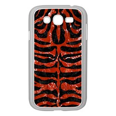 Skin2 Black Marble & Red Marble Samsung Galaxy Grand Duos I9082 Case (white)