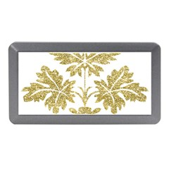 Gold Authentic Silvery Pattern Memory Card Reader (Mini)