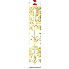 Gold Authentic Silvery Pattern Large Book Marks