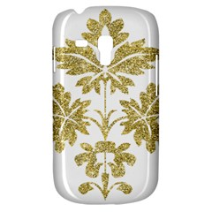 Gold Authentic Silvery Pattern Galaxy S3 Mini