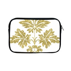 Gold Authentic Silvery Pattern Apple iPad Mini Zipper Cases