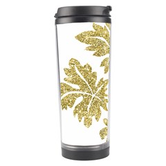 Gold Authentic Silvery Pattern Travel Tumbler