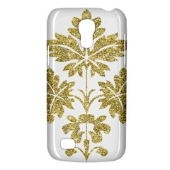 Gold Authentic Silvery Pattern Galaxy S4 Mini