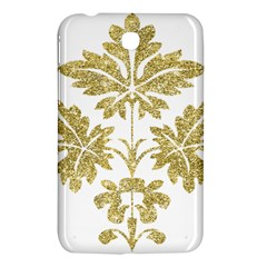 Gold Authentic Silvery Pattern Samsung Galaxy Tab 3 (7 ) P3200 Hardshell Case