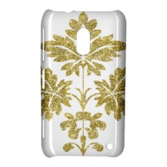 Gold Authentic Silvery Pattern Nokia Lumia 620