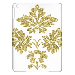 Gold Authentic Silvery Pattern iPad Air Hardshell Cases