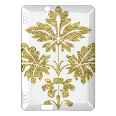 Gold Authentic Silvery Pattern Kindle Fire HDX Hardshell Case