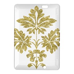 Gold Authentic Silvery Pattern Kindle Fire HDX 8.9  Hardshell Case