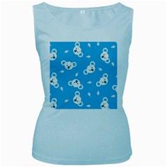 Blue Koala Women s Baby Blue Tank Top