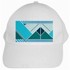 Logo Concept Banner Header Idea White Cap