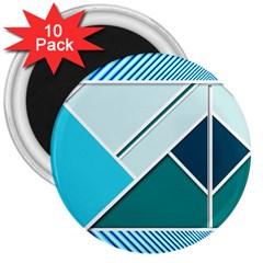 Logo Concept Banner Header Idea 3  Magnets (10 Pack)