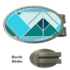 Logo Concept Banner Header Idea Money Clips (oval)