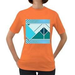 Logo Concept Banner Header Idea Women s Dark T Shirt