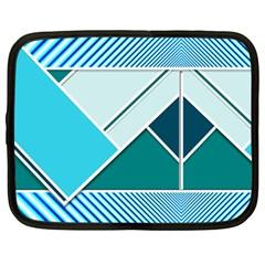 Logo Concept Banner Header Idea Netbook Case (large)