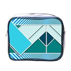Logo Concept Banner Header Idea Mini Toiletries Bags