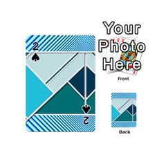 Logo Concept Banner Header Idea Playing Cards 54 (Mini)