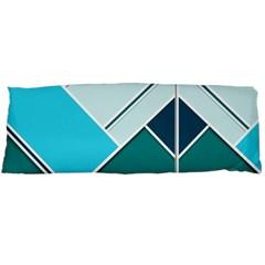 Logo Concept Banner Header Idea Body Pillow Case Dakimakura (two Sides)