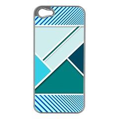 Logo Concept Banner Header Idea Apple Iphone 5 Case (silver)