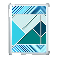 Logo Concept Banner Header Idea Apple Ipad 3/4 Case (white)