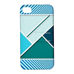Logo Concept Banner Header Idea Apple Iphone 4/4s Hardshell Case With Stand