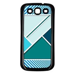 Logo Concept Banner Header Idea Samsung Galaxy S3 Back Case (black)