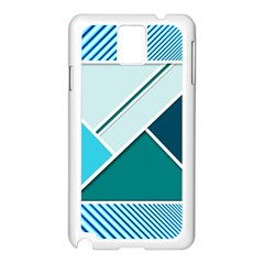 Logo Concept Banner Header Idea Samsung Galaxy Note 3 N9005 Case (white)
