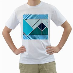 Logo Concept Banner Header Idea Men s T-Shirt (White)