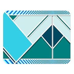 Logo Concept Banner Header Idea Double Sided Flano Blanket (large)