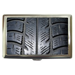 Mature Black Auto Altreifen Rubber Pattern Texture Car Cigarette Money Cases