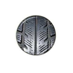 Mature Black Auto Altreifen Rubber Pattern Texture Car Hat Clip Ball Marker