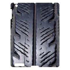 Mature Black Auto Altreifen Rubber Pattern Texture Car Apple Ipad 3/4 Hardshell Case