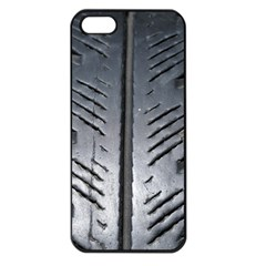 Mature Black Auto Altreifen Rubber Pattern Texture Car Apple Iphone 5 Seamless Case (black)