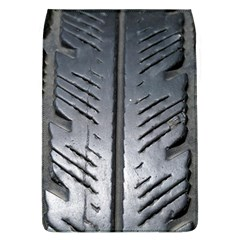 Mature Black Auto Altreifen Rubber Pattern Texture Car Flap Covers (l)