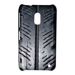 Mature Black Auto Altreifen Rubber Pattern Texture Car Nokia Lumia 620
