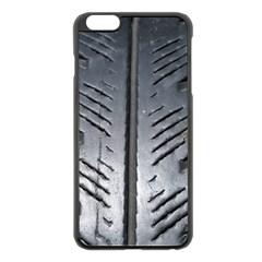 Mature Black Auto Altreifen Rubber Pattern Texture Car Apple Iphone 6 Plus/6s Plus Black Enamel Case