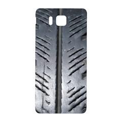Mature Black Auto Altreifen Rubber Pattern Texture Car Samsung Galaxy Alpha Hardshell Back Case