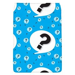 Blue Question Mark Flap Covers (s)