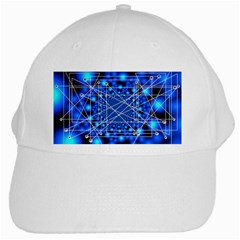 Network Connection Structure Knot White Cap