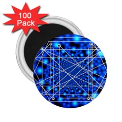 Network Connection Structure Knot 2 25  Magnets (100 Pack)