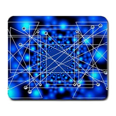 Network Connection Structure Knot Large Mousepads