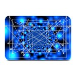 Network Connection Structure Knot Plate Mats 18 x12 Plate Mat - 1