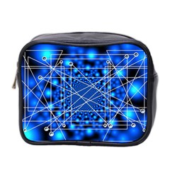 Network Connection Structure Knot Mini Toiletries Bag 2-Side