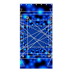 Network Connection Structure Knot Shower Curtain 36  X 72  (stall)
