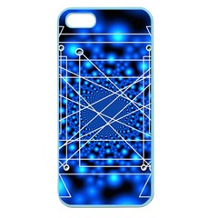 Network Connection Structure Knot Apple Seamless Iphone 5 Case (color)