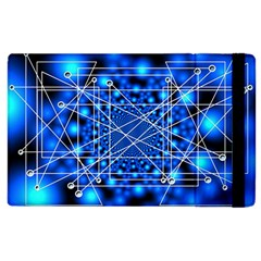 Network Connection Structure Knot Apple Ipad 2 Flip Case