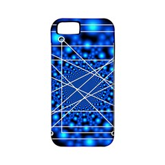 Network Connection Structure Knot Apple Iphone 5 Classic Hardshell Case (pc+silicone)